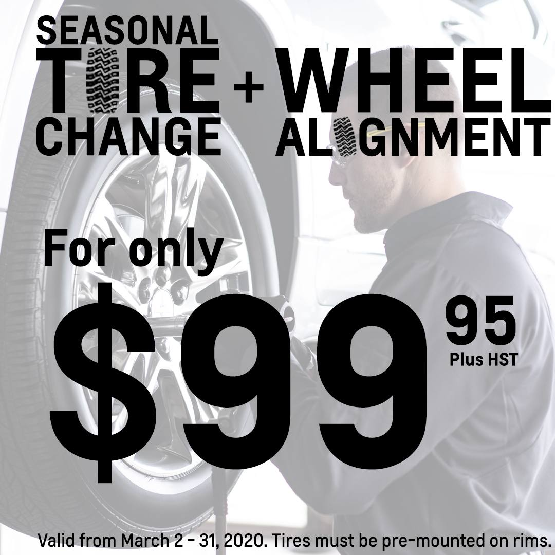 Tire Change Offer